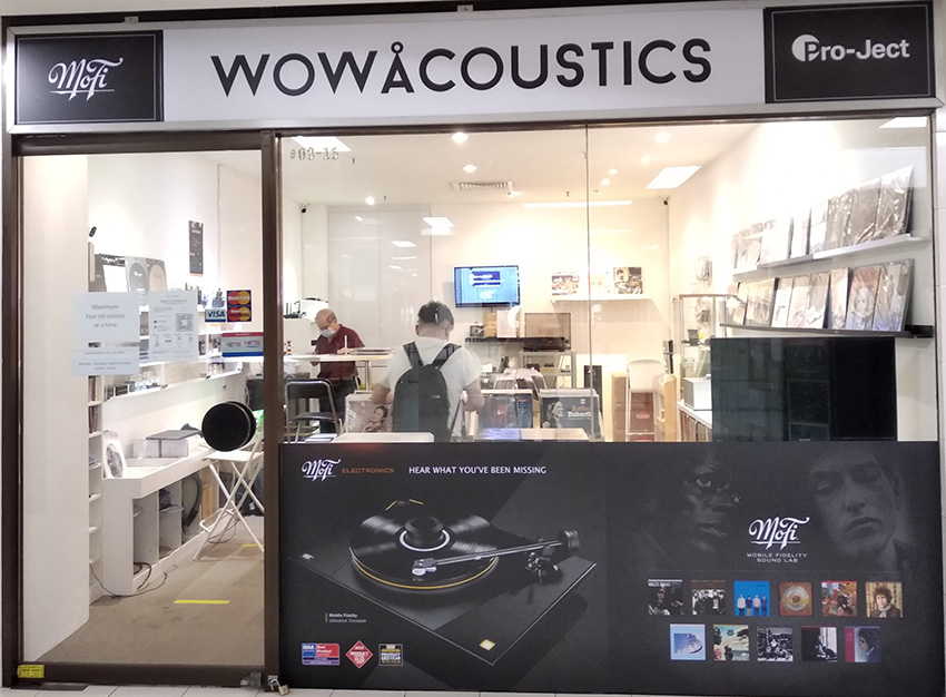 Wow Acoustics Shop Front